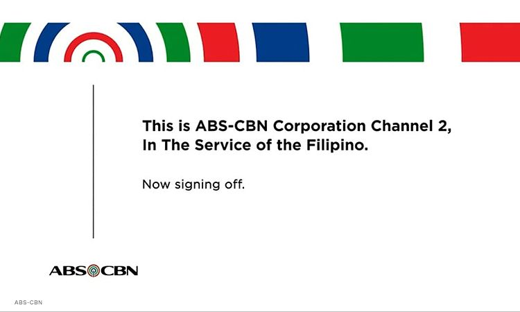 ABS-CBN goes off air following NTC order