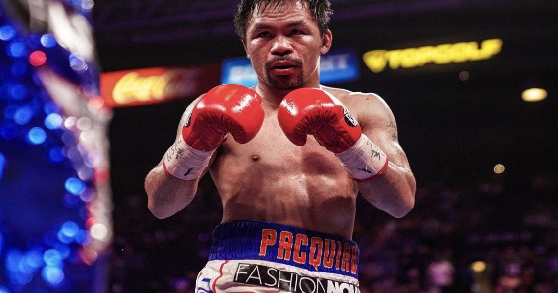 Manny Pacquiao ranks 3rd among World's Greatest Welterweight Boxers